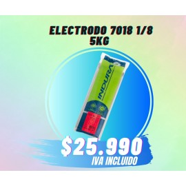 ELECTRODO 7018 1/8 INDURA (5KG)
